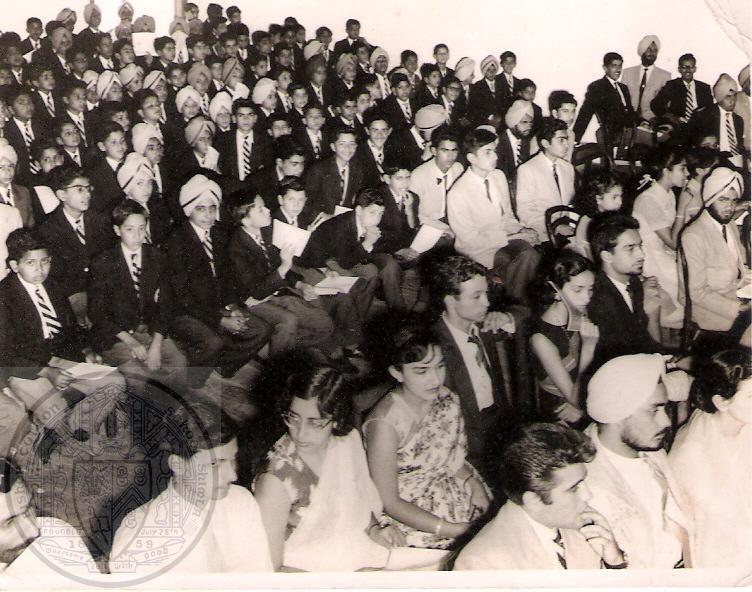 BCS Speech Day 1958